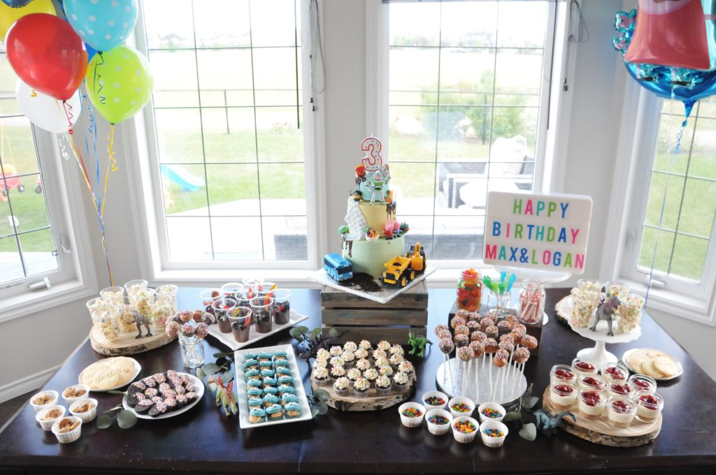 The Dessert Table May Look Impressive But It Was Very Easy To Set Up With A Lot Of Store Bought Items Just Spruced